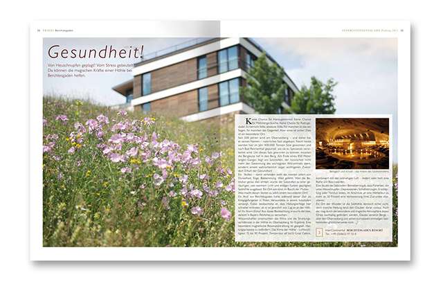 Intercontinental LIFE Magazin